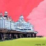 Pier in Pink Eastbourne