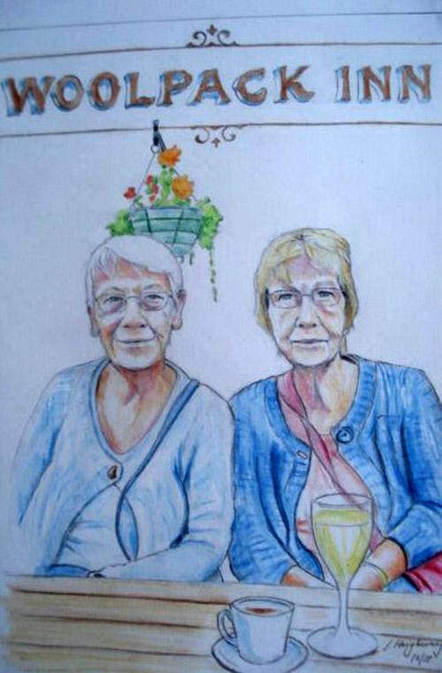 Dan's Mum & Aunty