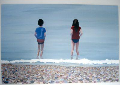 Sophie & Zach on Eastbourne Beach