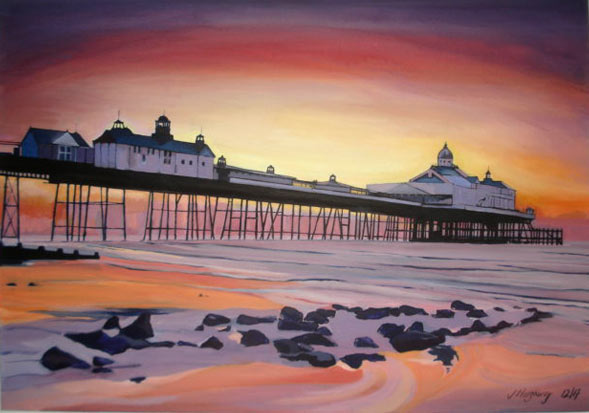 Eastbourne Pier at Sunrise