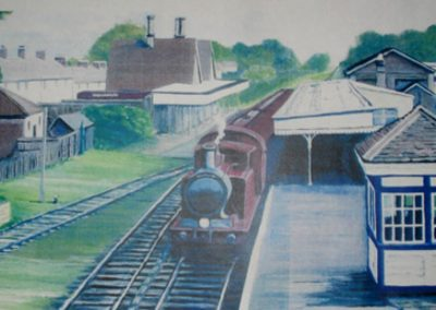 Train Station at Hailsham
