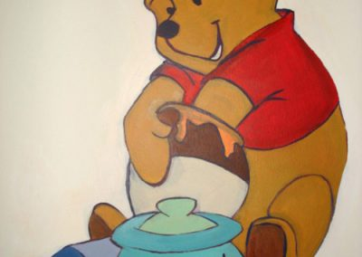 Winnie-the-Pooh Mural