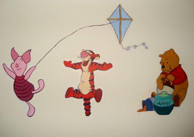 Winnie-the-Pooh & Friends Mural