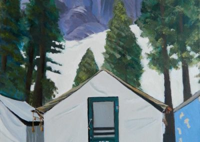 Bear Tent in Yellowstone