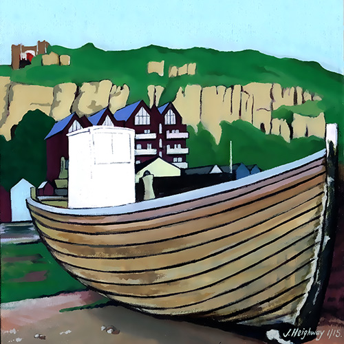 Hastings boats print
