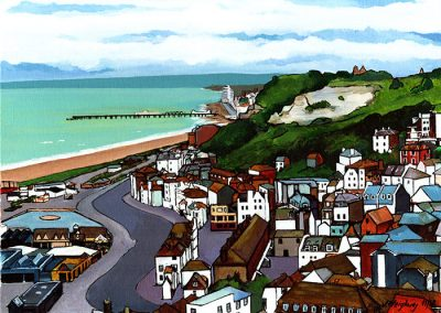 Hastings from the East Hill