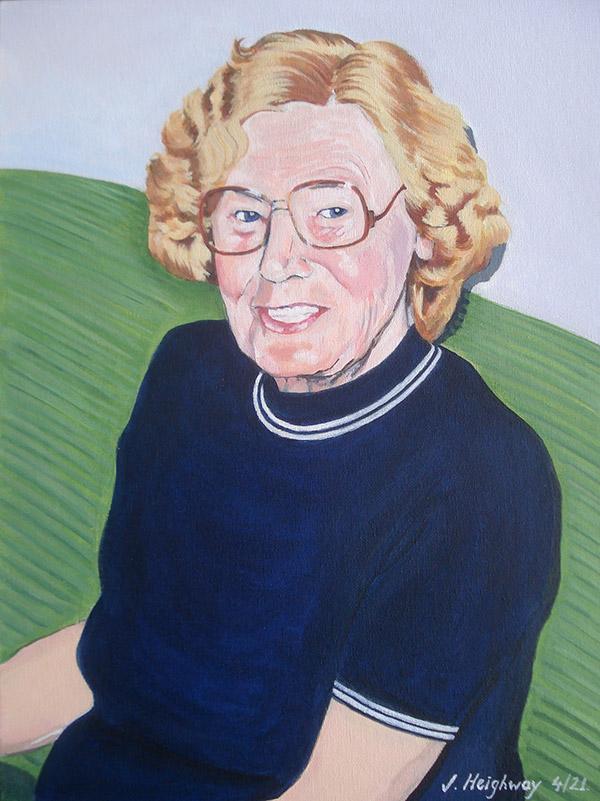 Hilda portrait