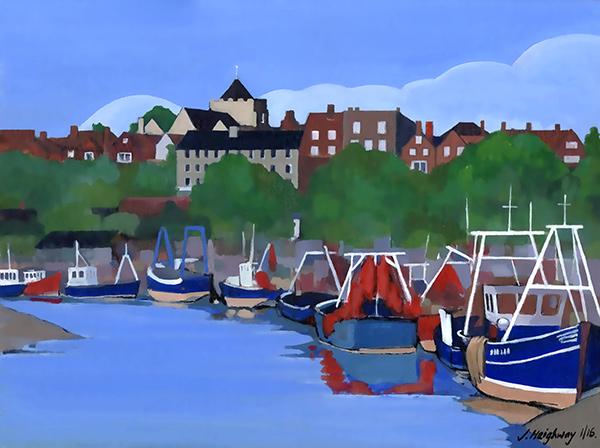 Boats at Rye