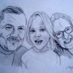 Keith, Helen & Sophie portrait