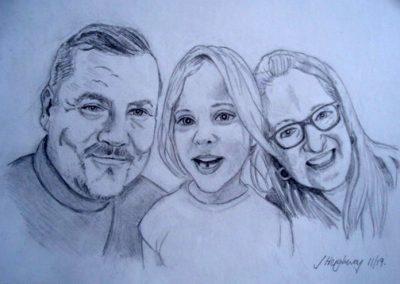 Keith, Helen & Sophie
