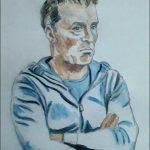Lee portrait painting