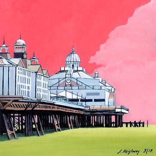 Pier in Pink, Eastbourne